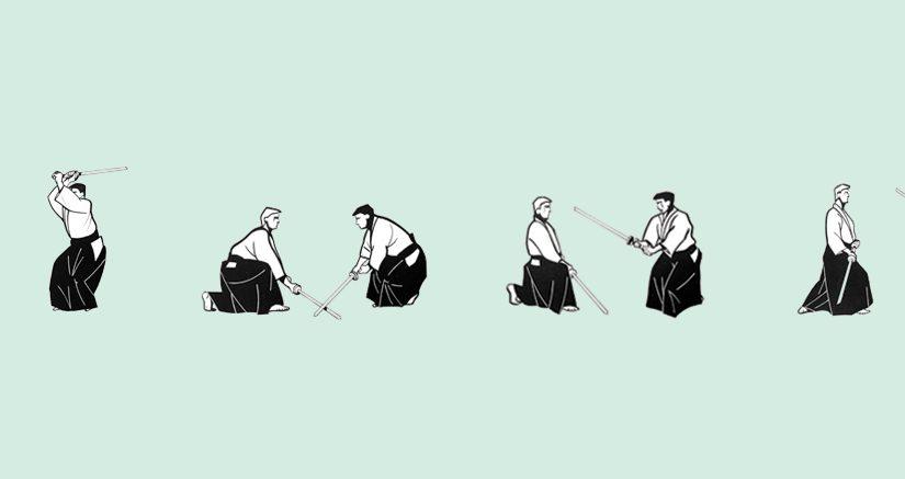 Neu: ein Kashima-no-tachi Übungsheft