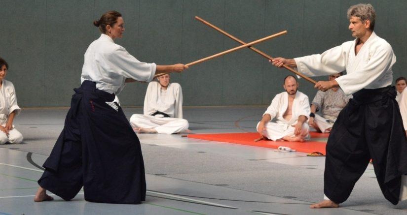 Aiki-jo auf dem Sommercamp 2019